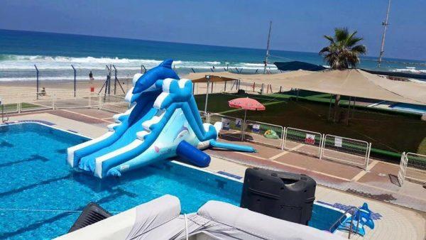 מגלשת דולפין 600x338 - מגלשת מים דולפין לבריכה