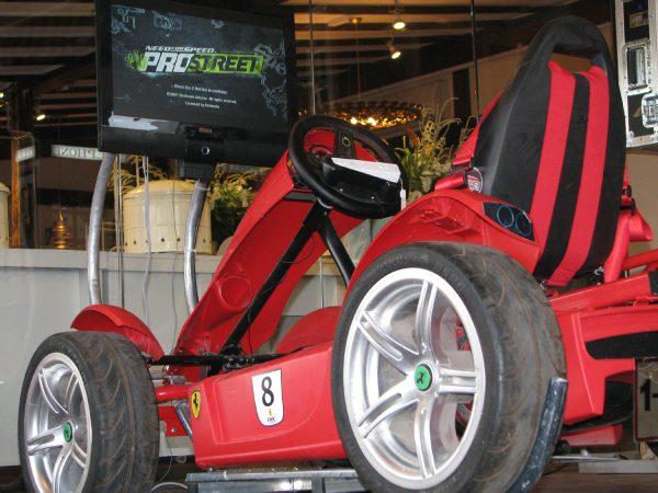 סימולאטור פרארי 600x450 - סימולאטור מכוניות פרארי