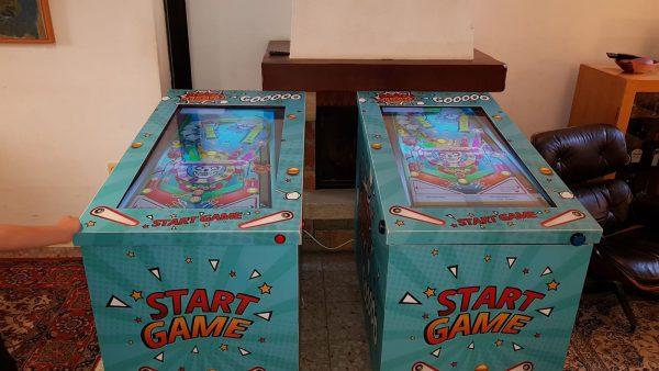פליפרים 600x338 - מכונת משחק פליפר / פינבול