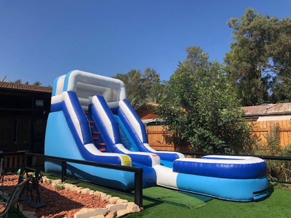 super slide 600x450 - מגלשת מים SUPER SLIDE