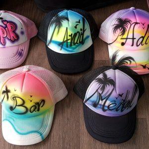 אייר בראש כובעים 7 300x300 - גרפיטי על כובעים