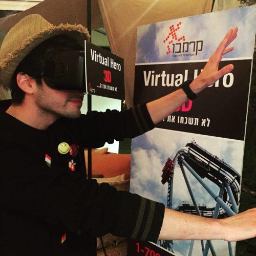 משקפי מציאות מדומה