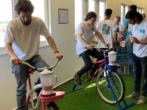 אופני שייק לאירועים בריאים 600x450 - SPINING SHACK